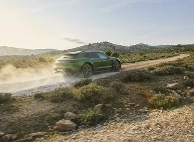 Porsche's second electric model is a sports car in hiking boots