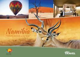 For wildlife travel, Namibia experiences a rise in the UK tourists!