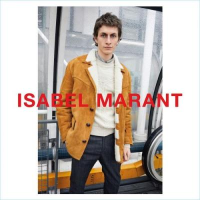 Juergen Teller Snaps Henry Kitcher for Isabel Marant Fall '18 Campaign
