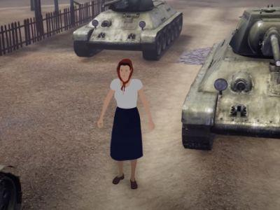 The 'Fighting Girlfriend' Who Bought A Tank To Avenge Her Dead Husband
