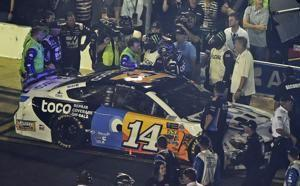 Punch Out: Bowyer, Newman end All-Star Race with fight