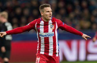 Atletico Madrid looks to put final touches on advancing by Leverkusen in UCL