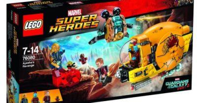 Guardians of the Galaxy 2 LEGO Set Has First Look at New