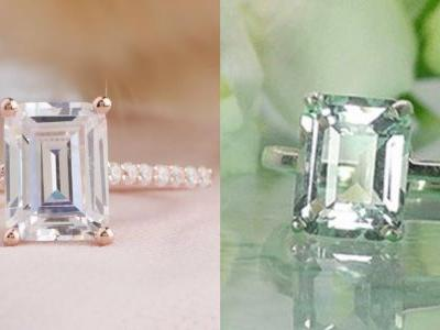 10 Emerald-Cut Engagement Rings Under $1,000 Inspired By J. Lo's Rock