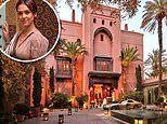 Live like a King, or Jessica Alba and Izabel Goulart, at Marrakech's iconic Royal Mansour Hotel