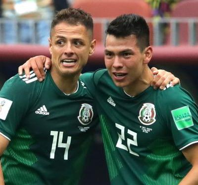 VIDEO: Lozano's opener gives Mexico first-half lead on Germany