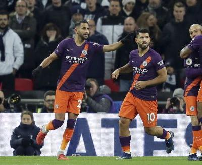 Mahrez nets Man City winner, pays tribute to Leicester owner