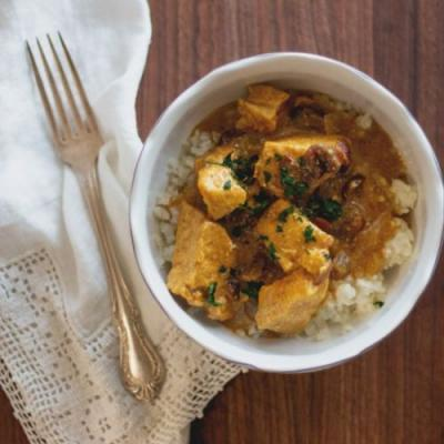 Slow Cooker Curry Chicken
