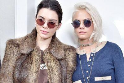 Kendall Jenner and Cara Delvingne Snapped Wearing Supreme x Louis Vuitton Collection Items