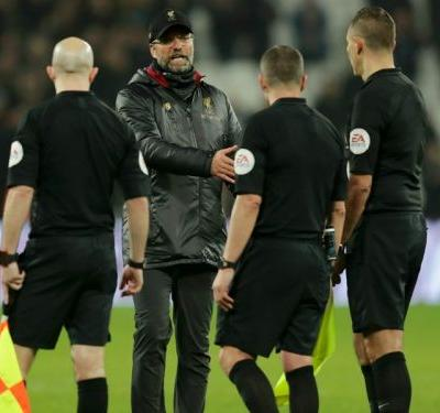 Klopp charged by FA for questioning integrity of referee Kevin Friend