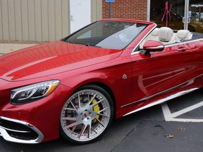 This Is The Only Maybach S650 Cabrio On Forgiato Alloys