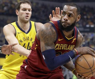 Cavaliers survive another Pacers comeback to even series