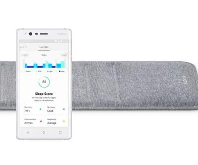 Nokia Sleep is an under-mattress pad that monitors sleep and works with IFTTT