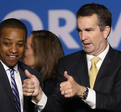 Clamor for ouster of top Democrats slows in Virginia