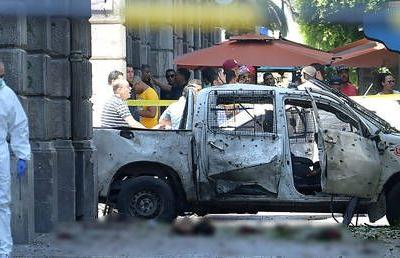 Twin suicide attacks target police in Tunis, 1 officer killed