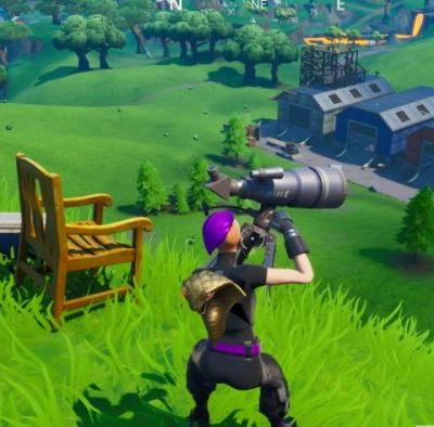 Fortnite: Dance at different telescopes in a single match