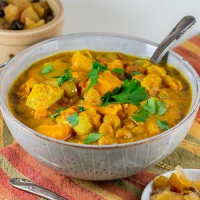 Chicken Curry with Sweet Potatoes