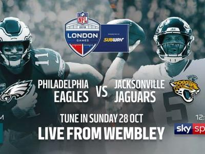 Philadelphia Eagles vs Jacksonville Jaguars live stream: how to watch today's NFL from anywhere
