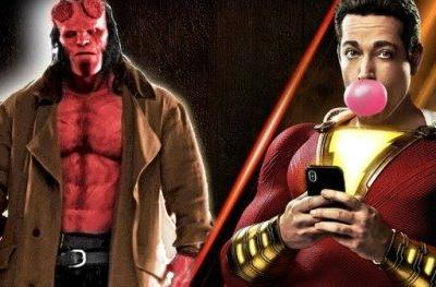 Can Hellboy Stop Shazam's Reign at the Box
