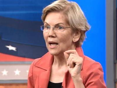 Elizabeth Warren says that as president, she'll think 'globally' about addressing climate change