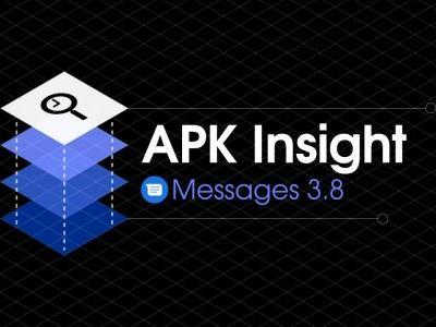 Messages 3.8 features revamped camera and gallery UI
