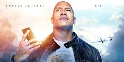 Apple partners w/ Dwayne 'The Rock' Johnson for new movie co-starring Siri
