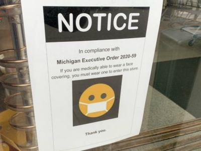 Masks required in stores, but enforcement an issue