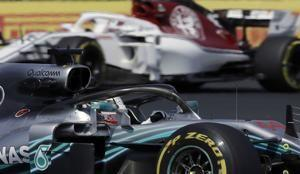 Hamilton, Bottas fastest in first practice for British GP