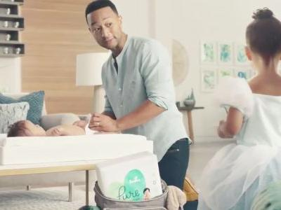 John Legend and Adam Levine Change Stinky Diapers in Hilarious Super Bowl Commercial