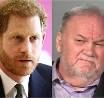 Thomas Markle says he hung up on Prince Harry after a heated phone call
