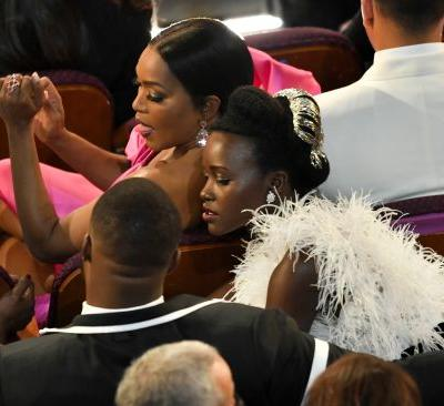 """Lupita Nyong'o's 2019 Oscars Dress Is """"Light As A Feather"""" & I'm Obsessed"""