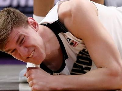 March Madness 2018: Purdue's Isaac Haas wants to play with fractured elbow
