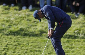 Same ol' story: Tiger takes another tumble at Ryder Cup