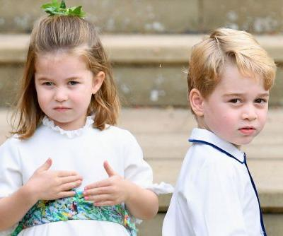 Prince George and Princess Charlotte have their own Christmas trees