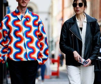 London Fashion Week: Men's SS20 Streetstyle Goes Big and Bold During Spring Showers