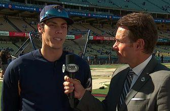 Christian Yelich on how the Dodgers pitch to him