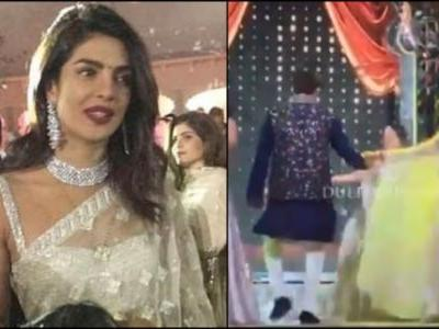 Priyanka making Anand dance with Isha Ambani is every saali ever. Unseen video