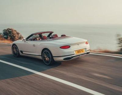 Bentley Continental GT Convertible shown off on video