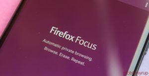 Firefox Focus update has biometric authentication, available on BlackBerry Key 2