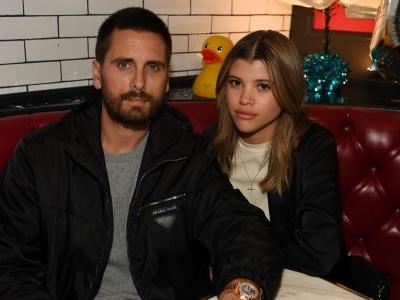 Scott Disick And Sofia Richie Enjoy Dinner At Sugar Factory, Where Love Is Sweet