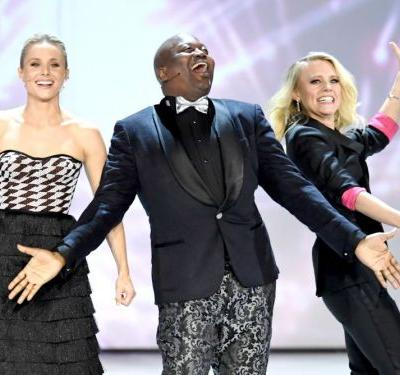 Kristen Bell, Tituss Burgess, and more celebrities opened the Emmys with a song about 'solving' Hollywood's diversity problem