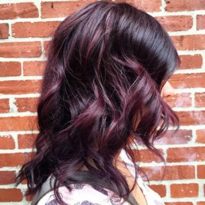 Blackberry Is The Hair Color You're Going To See Everywhere In 2018