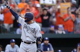 Manny Machado homers in first game back in Baltimore