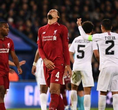 Van Dijk: Maybe Liverpool should be more like PSG