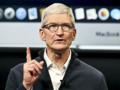 Apple CEO Tim Cook Optimistic About U.S.-China Trade Talks