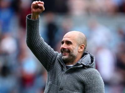 Man City to auction Pep Guardiola's winning 'coatigan'
