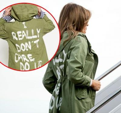 Melania Trump flew to Texas to visit immigrant children wearing a jacket that says 'I really don't care, do u?' - and people are freaking out