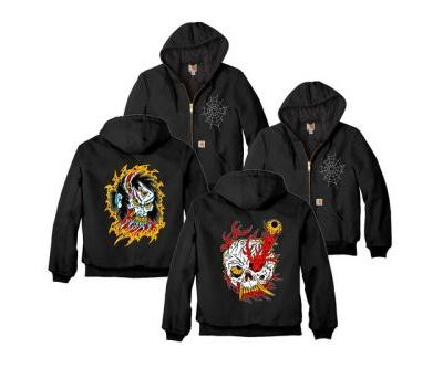 Henbo Henning Releases Carhartt Jackets With Custom Embroidery