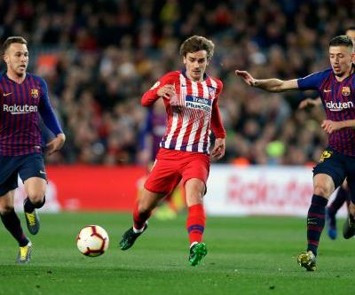 Griezmann tells Atletico Madrid he is leaving the club