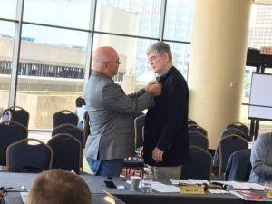 Searcy Completes Term as ASABE President